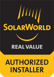 SBS Solar is proud to be a SolarWorld-Authorized Installer