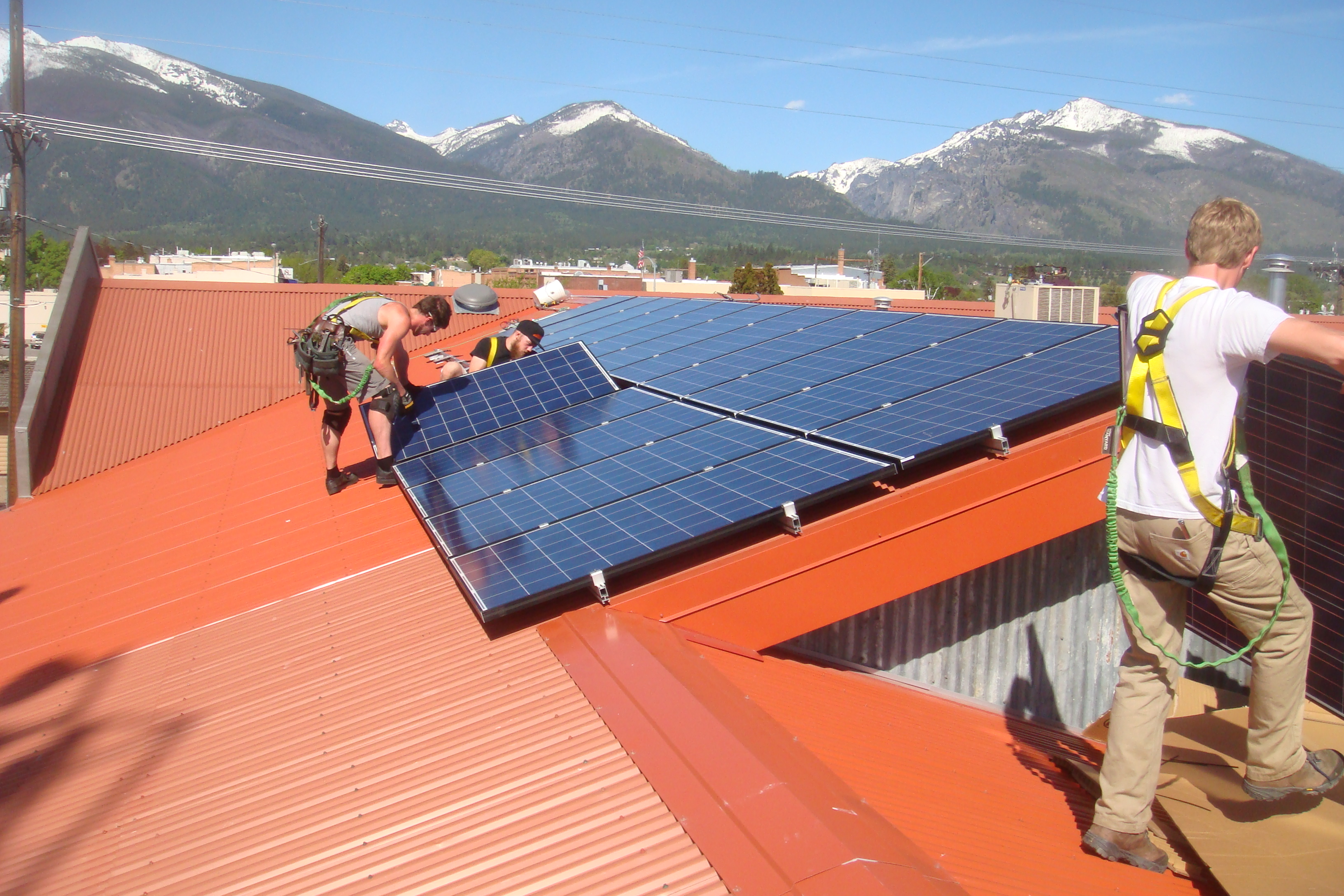 Sbs Solar Of Missoula Montana Electric Panels By Electronic Projects Electrical Lamar Valley Yellowstone National Park Bitterroot Brewery Rooftop Installation Hamilton Mt Residential Systems