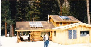 Log Home Solar Electric System