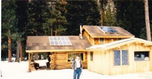Log Home Solar Electric System