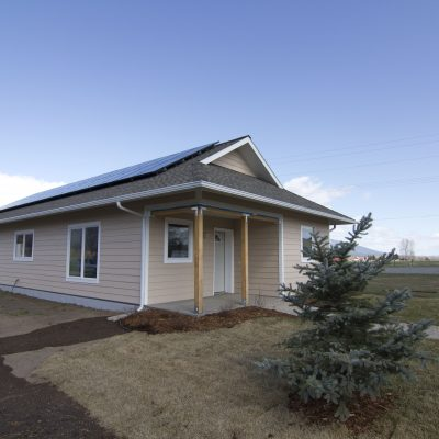 Habitat for Humanity of Ravalli County - Solar PV system as part of a Net-Zero Home