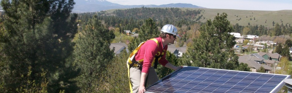 Residential Solar PV with mirco-inverters, Rattlesnake Valley, Missoula, MT