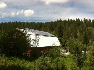 9 kW array, just outside Missoula, Montana