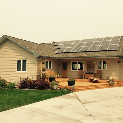 Photovoltaic Solar Electric Home
